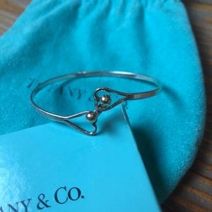 Tiffany Double Heart Wire Bracelet
